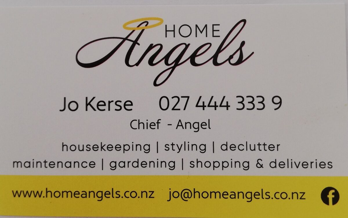 Home Angels Business Card